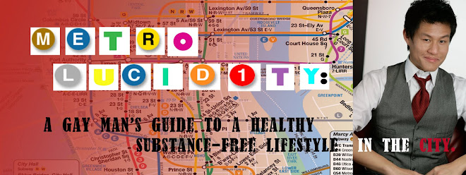 MetroLUCIDITY: A Gay Man's Guide to a Healthy Substance-Free Lifestyle in the City.