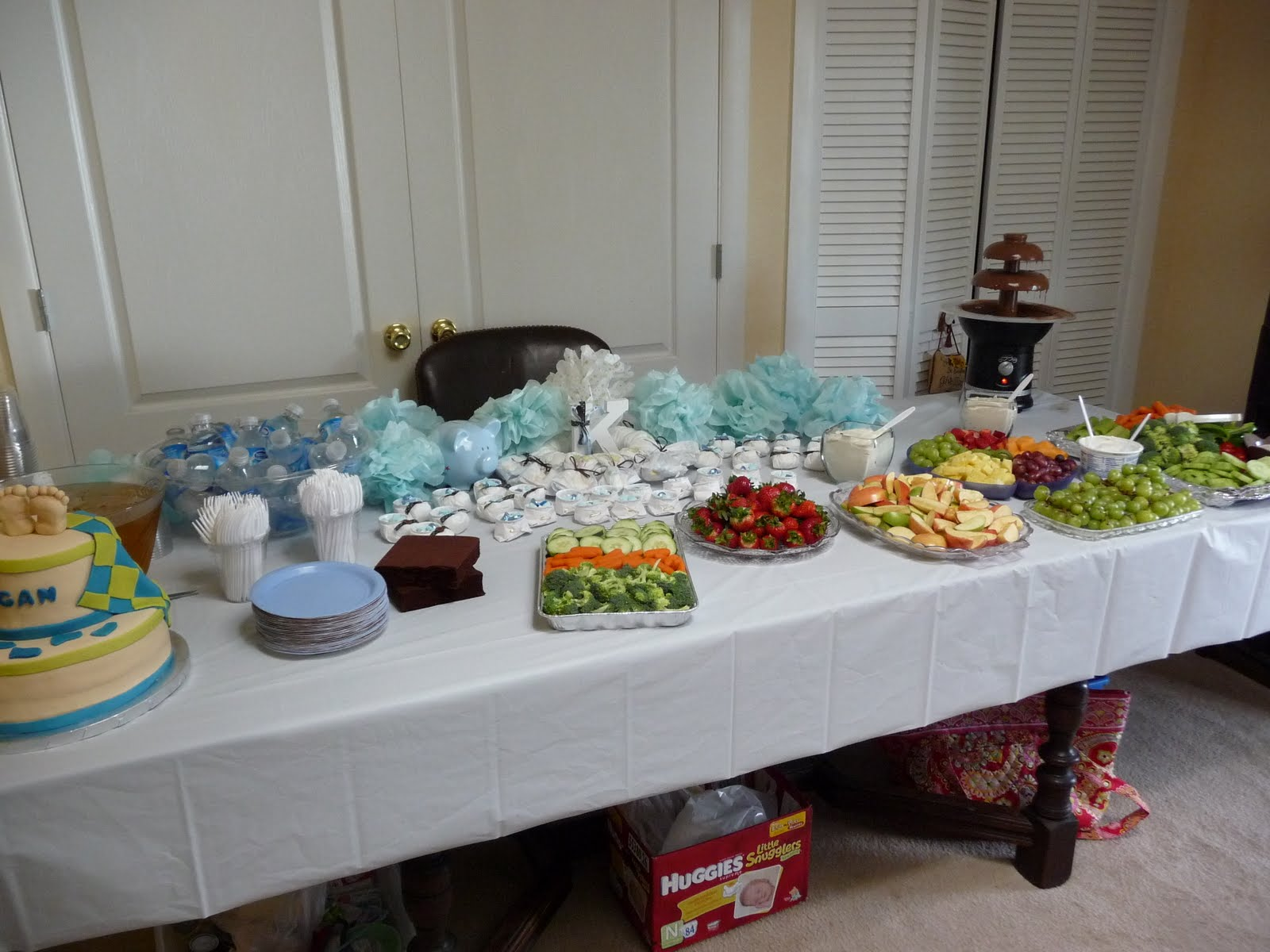 The Adams Family Adventures Baby Shower and New house