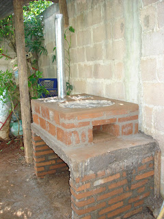 Estufas ahorradoras de le a patsari chacalapa junio 2009 for Estufas de lena para cocinar