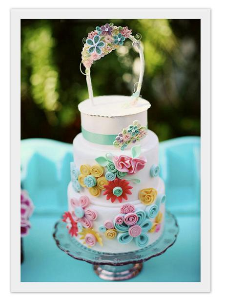 my jaw hit my keyboard when i saw this customquilled cake at utterly