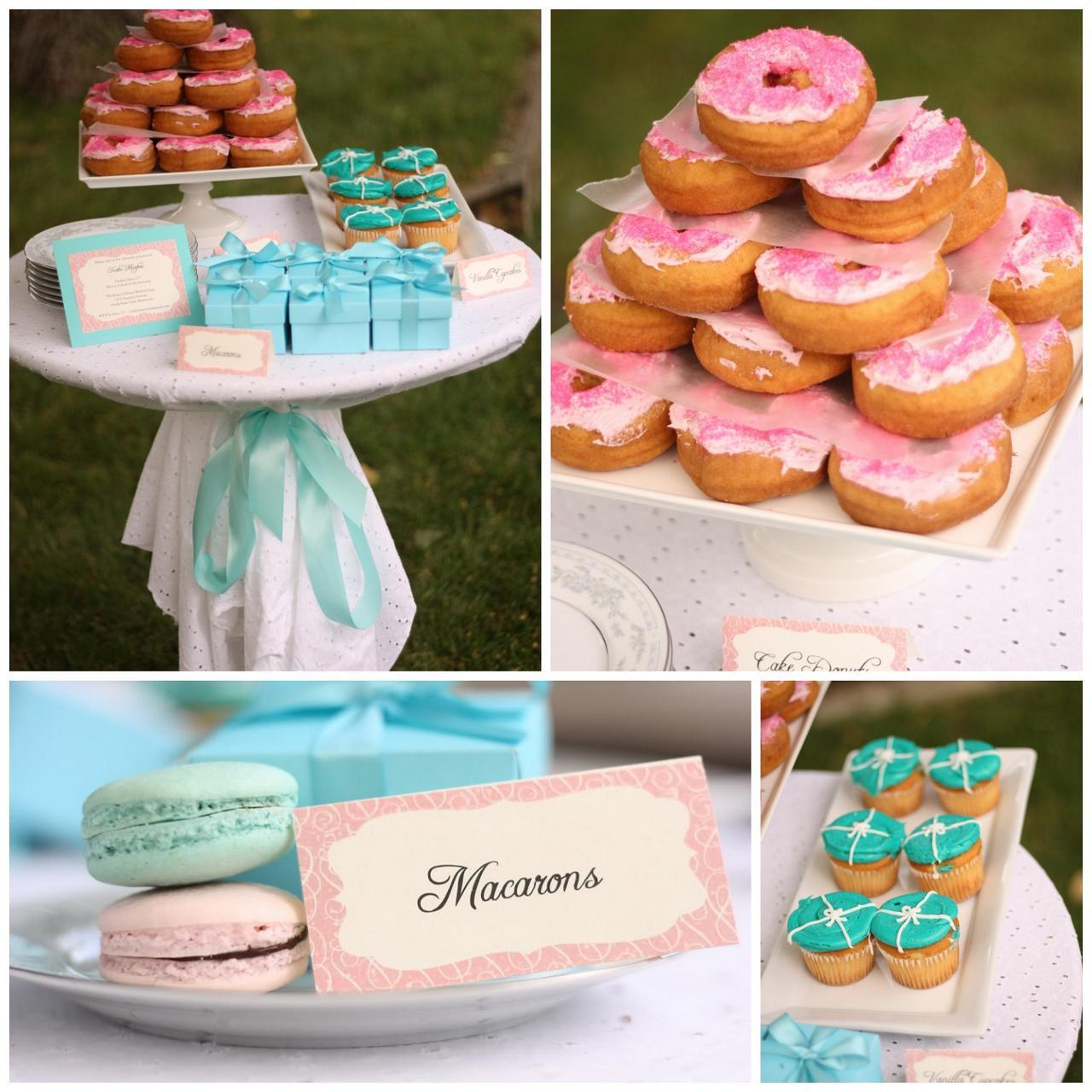 Postcards And Pretties Bridal Shower Breakfast At Tiffanys