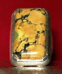 batu firus(torqoise) ikatan perak
