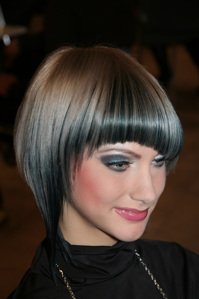 woman short hairstyles. This particular bob hair style