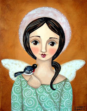 Angel with Black Bird