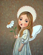 Angel with Daisy