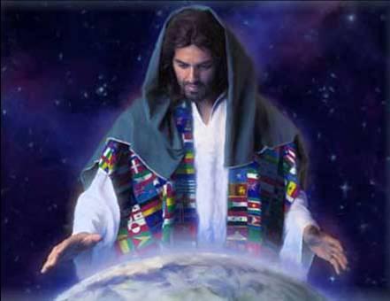 Jesus olhou para as Nações.