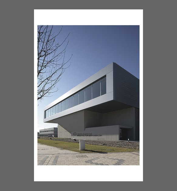 Arquitecturaenimagen edificio industrial en parque - Arquitectos en valladolid ...