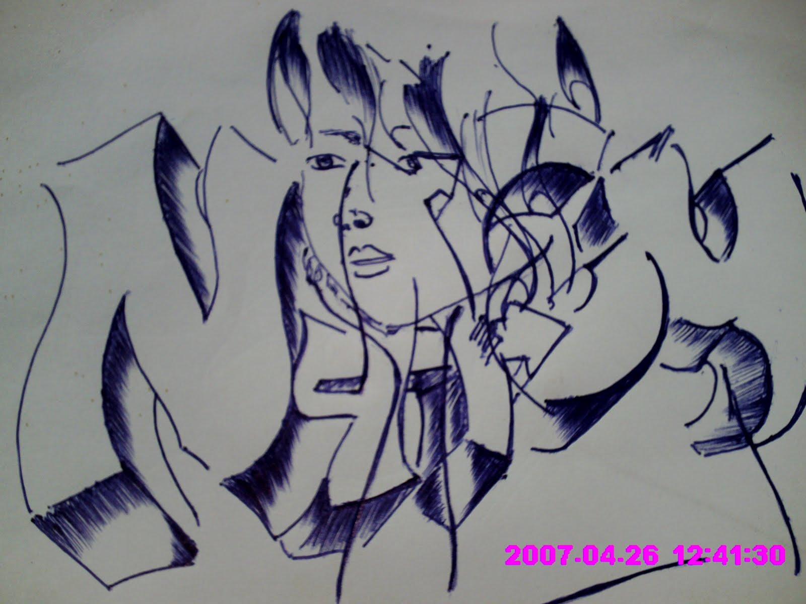 Diego Letras De Graffiti Abecedario Alphabet