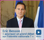 Eric BESSON, ministre du Travail, de la Famille et de l'Identité nationale (déchu de ses fonctions)