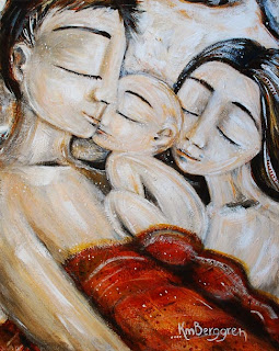 Three, Sleeping – brand new painting released today