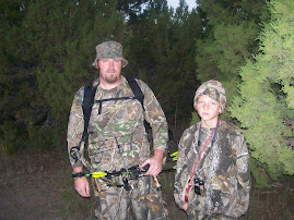 my boys on the archery hunt