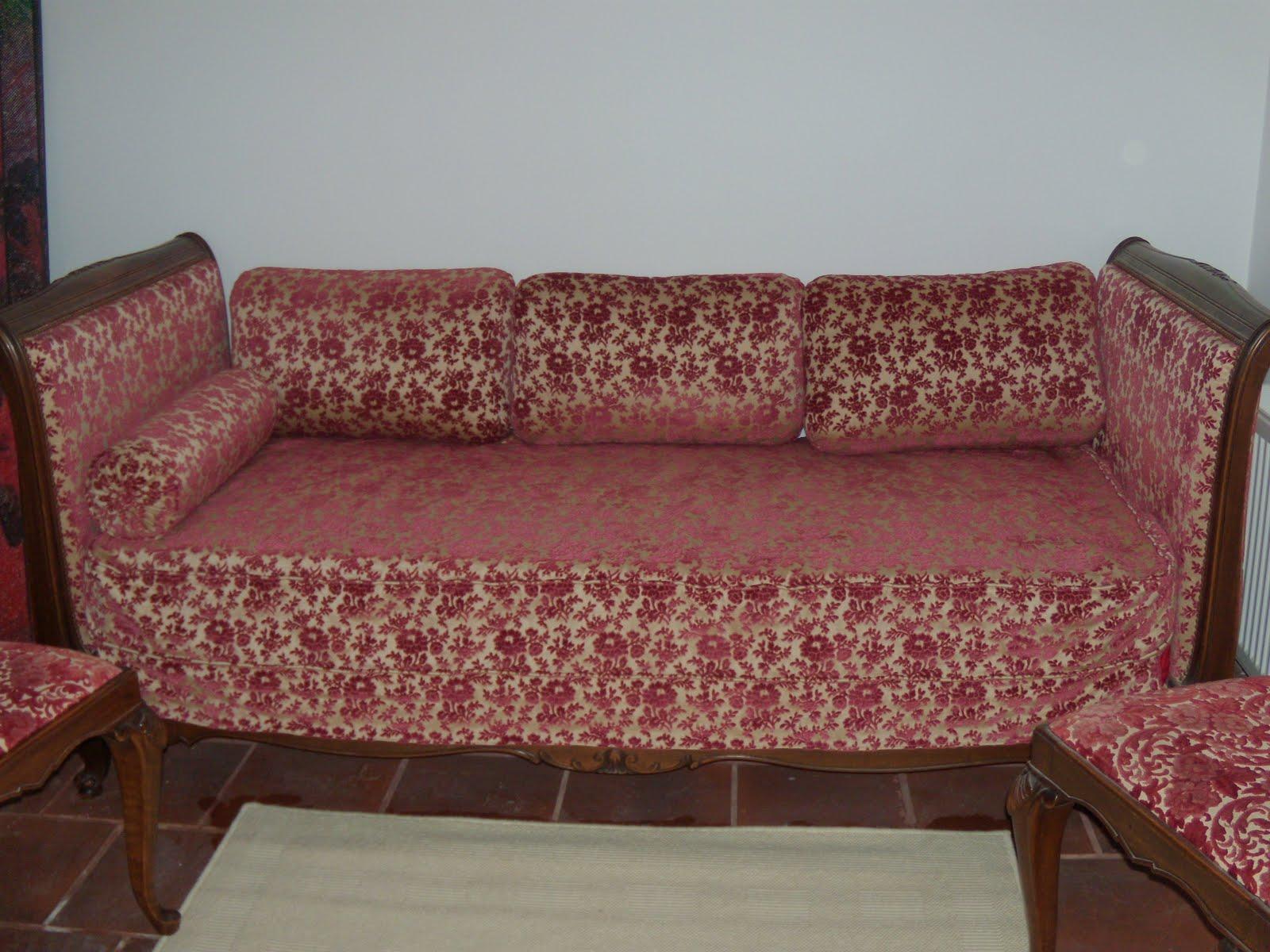 Venta garage sof cama estilo imperio estructura madera for Sofa cama 1 50 de ancho