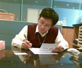 petugas perpustakaan hongkong