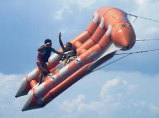 watersport, tanjongbenoa, olahraga air, jetski, parasailing, flying fish, banana boats
