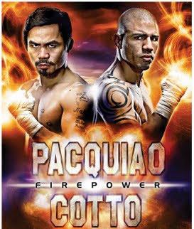 Firepower: Pacquiao vs. Cotto