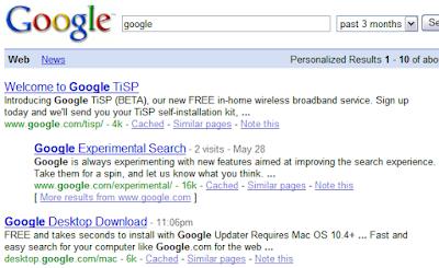Recent Google Search Result(时间范围限定为过去3个月的Google搜索结果)