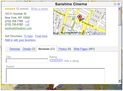 Google Maps Businesses Reviews