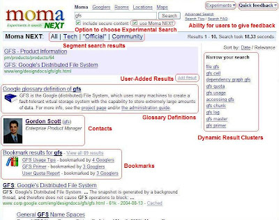MOMA Next:Google Intranet Search(Google内部网络搜索)