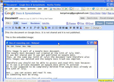 Google Docs Document embed notepad screenshot(Google Docs文档嵌入记事本截图)