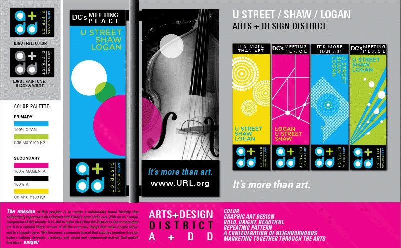 Banner Design Ideas screenshot 14th You Arts District Branding Initiative Update On Banner Designs