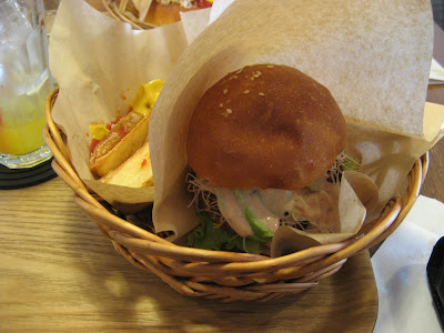 Mana burger vegetarian hamburger fukuoka
