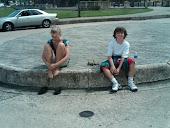 Tired kids in Old San Juan