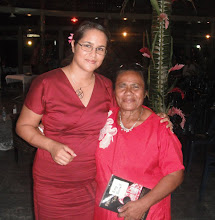 Author Lani Young with tsunami survivor Amy Purcell
