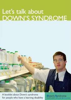 let's talk about down syndrome booklet