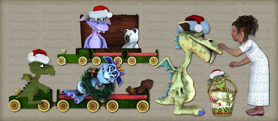 free christmas critters preview Free Christmas Monster PNG Images