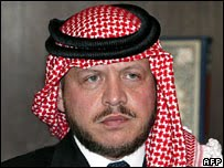 king abdulla II 9 11 bombings
