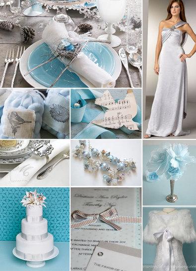 fehér, ezüst és kék