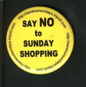 Save Our Sundays