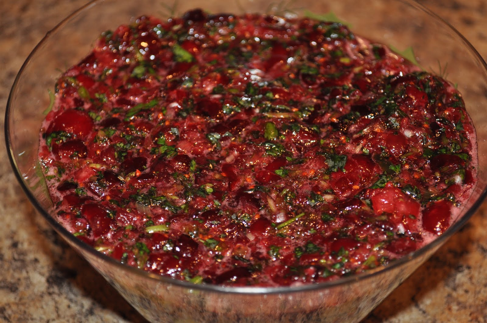 Cranberry Salsa Recipe — Dishmaps
