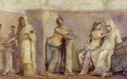 Mujer en la antigüedad