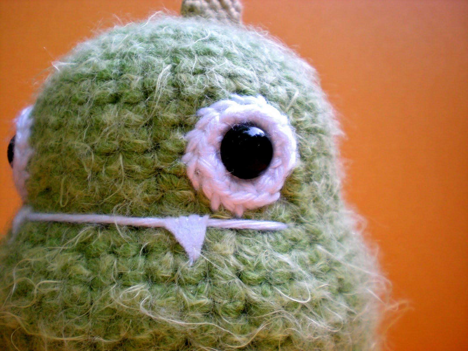Amigurumi Monster Pattern Free Crochet : Suravi s amigurumi adventures gorge the monster free pattern