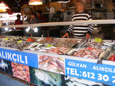 Fresh Fish At The Fish Market in Fethiye