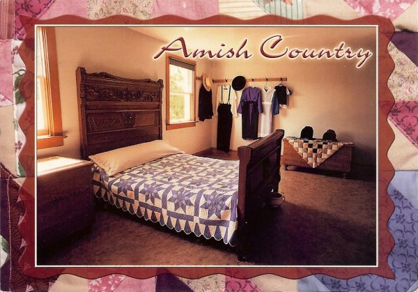 Amish bedroom