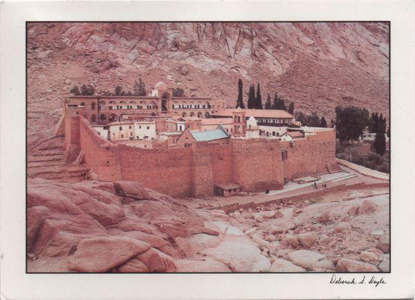 St Catherine's Monastery, Mount Sinaï, Egypt
