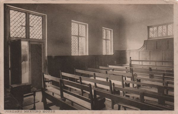 interior of Jordans Meeting House