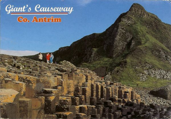 view of the giant's causeway