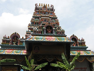 Goravanahalli Shree Mahalakshmi Temple Main Entrance