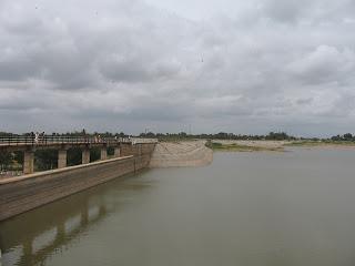 Theetha Reservoir in Goravanahalli