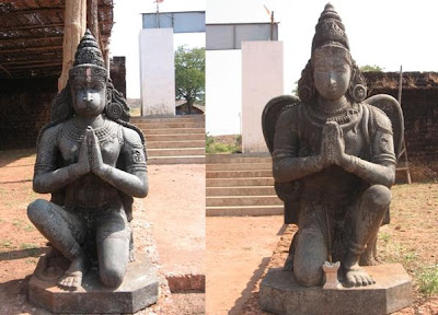 Lord Hanuman and Garuda