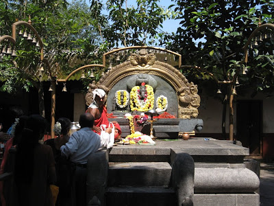 Main Deity of the Sowthadka Temple, Shree Mahaganapthi