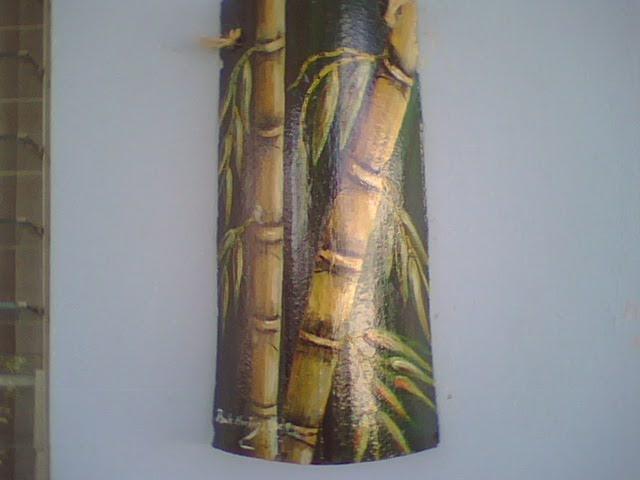 Tejas decorativas estilo caribe o tejas pintadas a mano - Pintura para tejas ...
