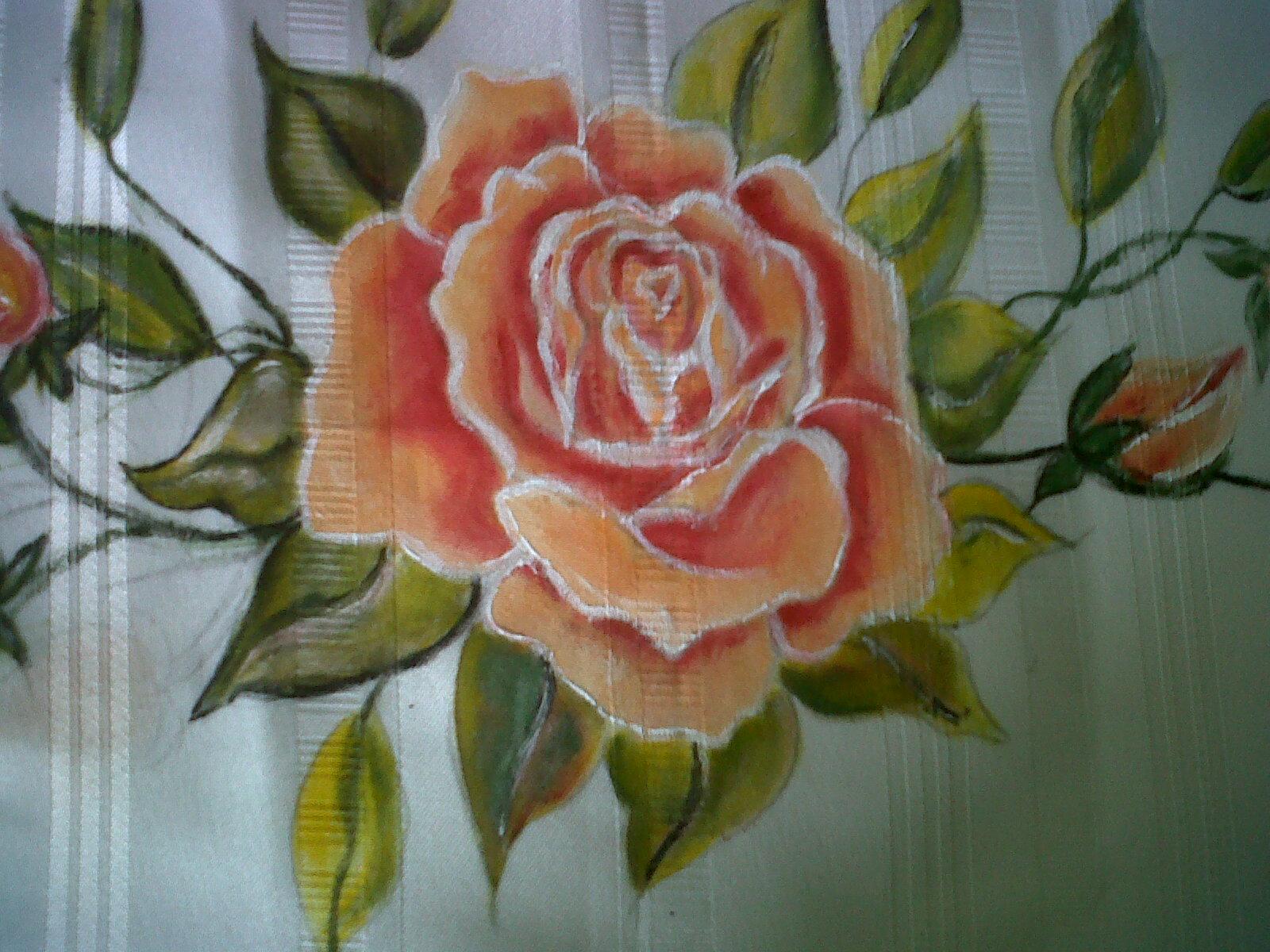 Tejas decorativas estilo caribe o pintura en tela - Dibujos para pintar en tejas ...
