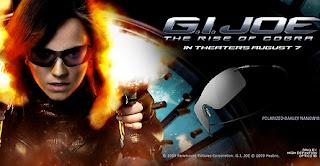 Sunglasses in G.I. Joe – Oakley Nanowire Polarized – Sienna Miller