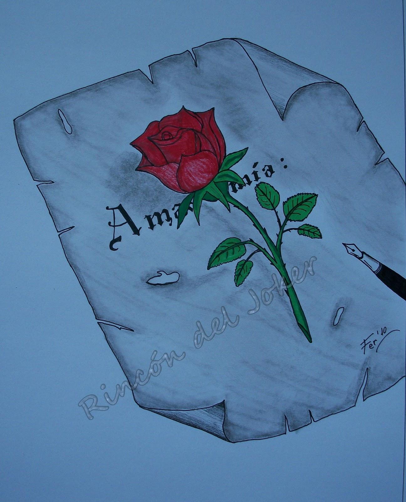Dibujos Romanticos Hechos A Lapiz Graffiti