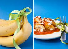 Sült banán kókuszos karramellel