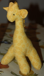 giraffe for the baby